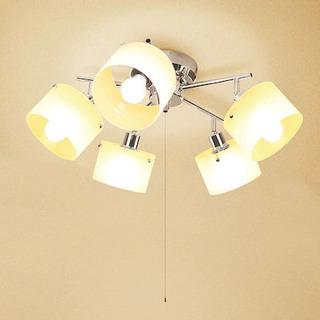 5灯式シーリングライト
