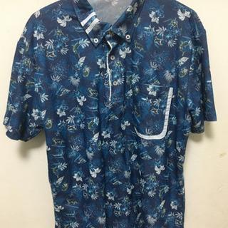 沖縄物語かりゆしポロシャツ