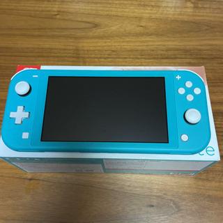 値下 Nintendo switch ターコイズブルー