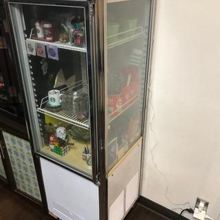 サンヨー業務用冷蔵ショーケース(冷蔵機能なし)インテリアラックと...