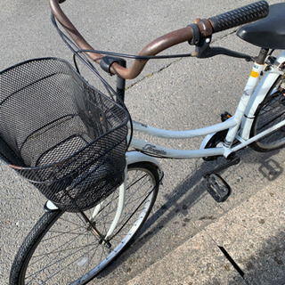 【取引中】乗れればokの方自転車どうぞ