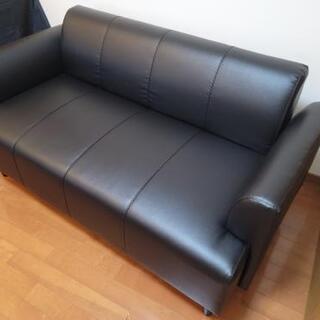 二人がけソファー、IKEAヘムリンビー