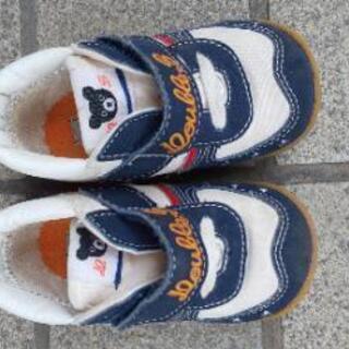 ミキハウス ベビー 靴 12.5
