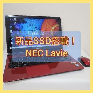 新品SSD搭載!!NEC Lavie LS150/S マウ…