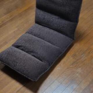【ネット決済】リクライニング座椅子 ブラウン 三重県内限定