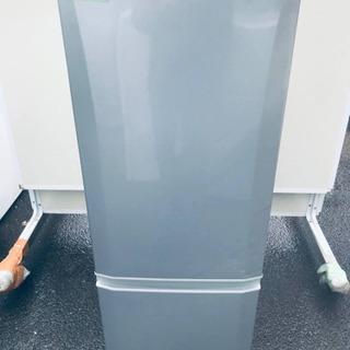 831番 三菱✨ノンフロン冷凍冷蔵庫✨MR-P17W-S‼️