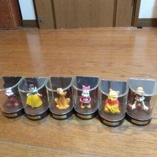 【ネット決済】ディズニーキャラクター6体:ミッキー/ピノキオ/プ...