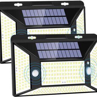 【未使用品!1個売り!】316連LEDソーラー充電センサーライト