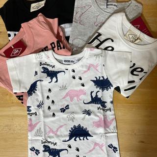 【ネット決済・配送可】Tシャツ 半袖 男女兼用5枚セット