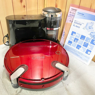TOSHIBA 東芝 ロボット掃除機 トルネオ ロボ VC-RVS2