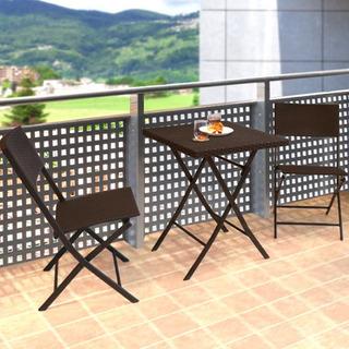 ベランダに置ける椅子とテーブル