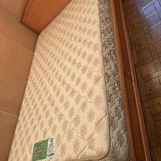 【ネット決済】フランスベッド セミダブル 3段引き出し収納付き ...