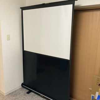 自立式スクリーン 60インチ