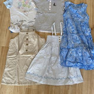 女の子 ワンピース、Tシャツ 120〜130cm