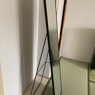 【ネット決済】スタンドミラー 鏡 IKEA 全身鏡
