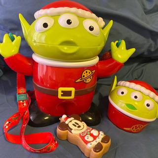 ディズニー リトルグリーンメン ポップコーンバケツ クリスマス