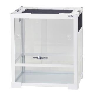 【購入者決定済】【美品】爬虫類・小動物飼育用 組立て式ガラスケース