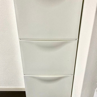 IKEA 3段シューズボックス