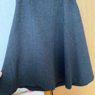 コムサ厚手のスーツグレー