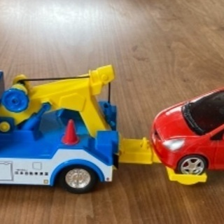 JAF牽引車 おもちゃの車