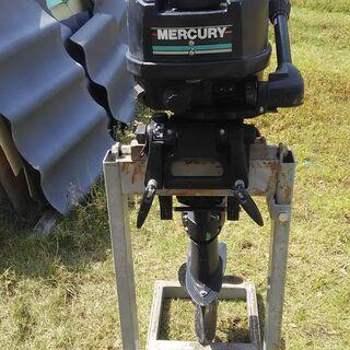 【ネット決済・配送可】船外機 mercury 8馬力