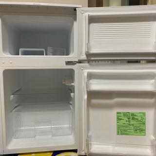 【ネット決済】冷凍冷蔵庫 90L 使用:2年未満