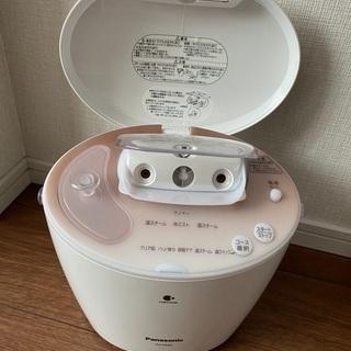 美品 Panasonic ナノケア スチーマー