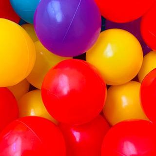 ボールプール用カラーボール43個