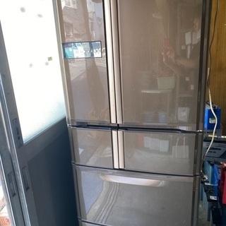 良品 2005年三菱ノンフロン冷凍冷蔵庫 MR-G40NF-BR
