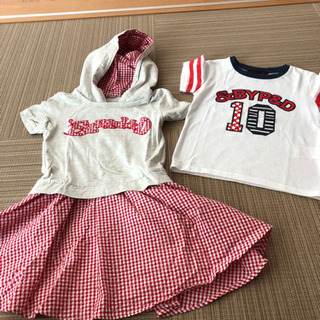 110センチ 女の子 夏服