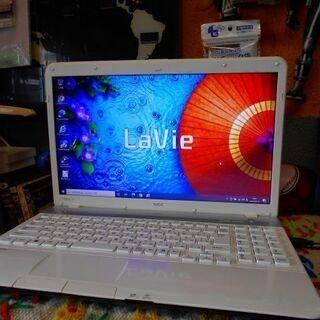 【ネット決済・配送可】NEC Lavie LS550/ES6W ...