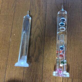 ニトリ ストームグラス ガリレオ温度計