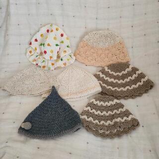 ベビー帽子 ハンドメイド品