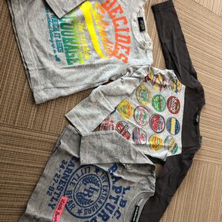 90センチ 薄手長袖Tシャツ 95センチLeeのパーカー