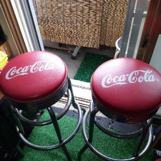 コカ・コーラステンレス椅子
