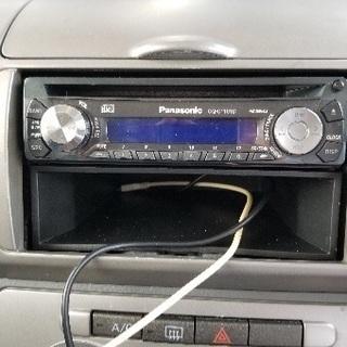 Panasonic《CQーC1101D》CDラジオ中古品