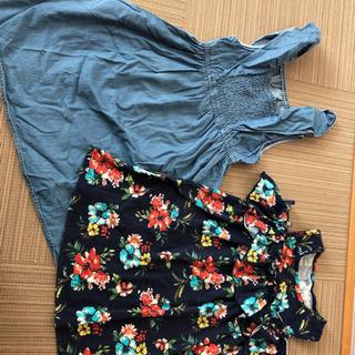 130センチ ワンピース2枚 半袖Tシャツ7枚 ズボン2本