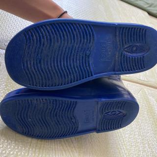 【クリーニング済】16cm 長靴 レインブーツ - 下関市