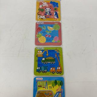 【🧩4種類入ってる🧩🉐】パズル 知育玩具