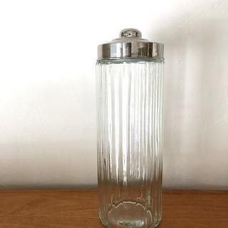 アンティーク風ガラスのパスタ入れ 保存容器