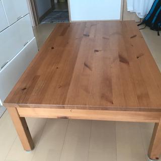 イケア IKEA ヨックモック 座卓カスタマイズ品 テーブル