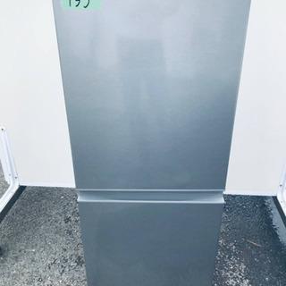 ①✨2019年製✨735番AQUA✨ノンフロン冷凍冷蔵庫✨AQR...