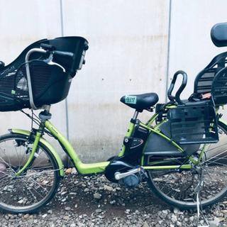 ④417番 電動自転車 ✨ Panasonic ギュッド ENM...