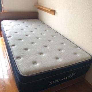 【ネット決済】ベッドフレーム・ベッドマットレス