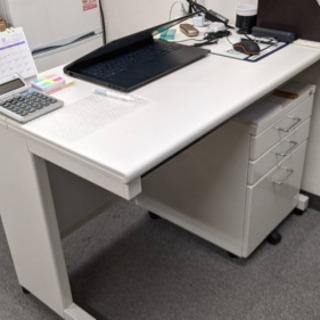 オフィステーブル デスク 引き出しワゴン