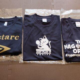 ☆【値下げ✨】新品未使用・卓球柄のTシャツ3点・Unite…