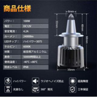【ネット決済】LEDヘッドライトバルブ