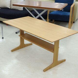 北海道/千歳市 良品企画 ダイニングテーブル ナチュラル 幅約1...