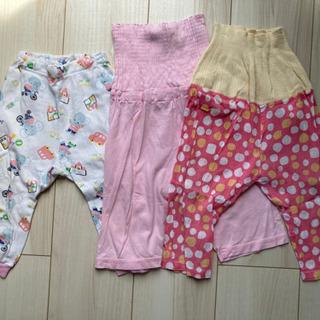 子供 パジャマズボン サイズ80×3枚