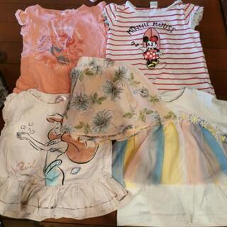 女の子 Tシャツ4点、スカート1点、ズボン4点セット